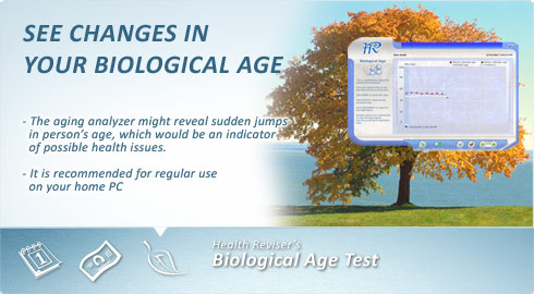 Biological Age - see changes