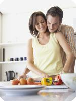 Biological age and family food