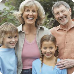 Never too late for health of family