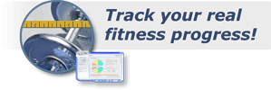Track your real fitness progress!