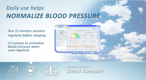 Normalize blood pressure